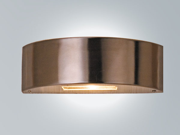 LP101A-> Stainless steel wall light